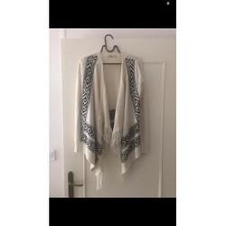 Vêtements Femme Gilets / Cardigans Hollister Gilet Hollister Blanc
