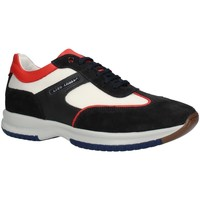 Chaussures Homme Baskets basses Gino Tagli 099CTPE21 haut Homme BLEU / BLANC / ROUGE BLEU / BLANC / ROUGE