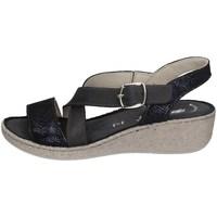 Chaussures Femme Sandales et Nu-pieds Florance 39118 D NOIR