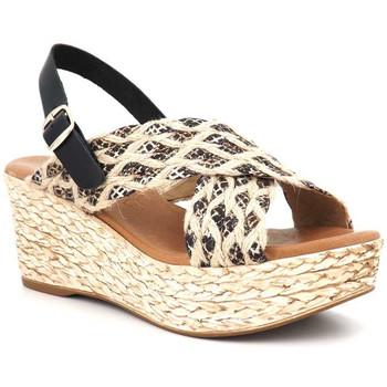 Chaussures Femme Sandales et Nu-pieds Carla Tortosa 69232 python Noir