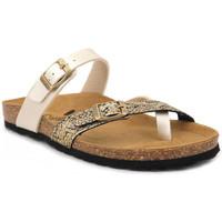 Chaussures Femme Mules Santafe Bio Miss Doré
