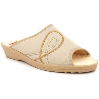 Chaussures Femme Chaussons Soir & Matin Rosalie Beige