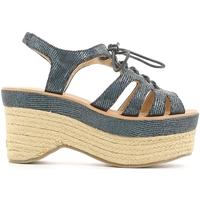 Chaussures Femme Sandales et Nu-pieds Police 883 V70 Bleu