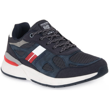 Chaussures Homme Baskets basses Dockers 660 NAVY Blu