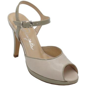 Chaussures Femme Sandales et Nu-pieds Angela Calzature ANSANGC13139bg beige