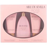 Beauté Femme Coffrets de parfums Aire Sevilla Aire De Sevilla Rosè Coffret 3 Pz