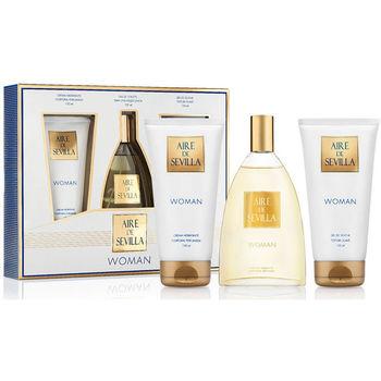 Beauté Femme Coffrets de parfums Aire Sevilla Aire De Sevilla Woman Coffret 3 Pz