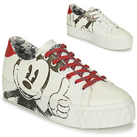 Chaussures Femme Baskets basses Desigual STREET MICKEY Blanc / Rouge