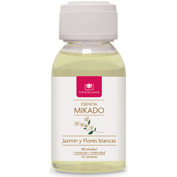 Maison & Déco Bougies, diffuseurs Cristalinas Mikado Recambio Esencia jazmín  100 ml