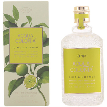 Beauté Eau de toilette 4711 Acqua Eau De Cologne Lime & Nutmeg Edc Splash & Spray  170