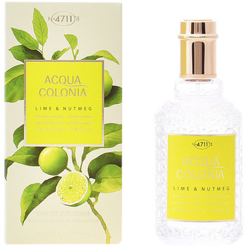 Beauté Eau de toilette 4711 Acqua Eau De Cologne Lime & Nutmeg Edc Splash & Spray  50 m