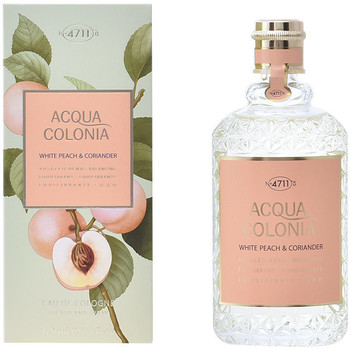 Beauté Eau de toilette 4711 Acqua Eau De Cologne White Peach & Coriander Splash & Spray 471