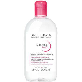 Beauté Démaquillants & Nettoyants Bioderma Sensibio H2o Solution Micellaire Peaux Sensibles  500 m