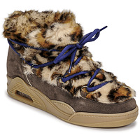 Chaussures Femme Boots Serafini MOON LOW Léopard