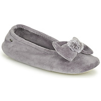 Chaussures Femme Chaussons Isotoner 97206 Gris
