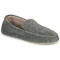 Chaussures Homme Chaussons Isotoner 96774 Gris chiné