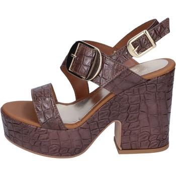 Chaussures Femme Sandales et Nu-pieds Sara Collection BJ924 Marron