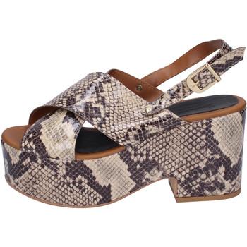 Chaussures Femme Sandales et Nu-pieds Sara Collection BJ932 Beige