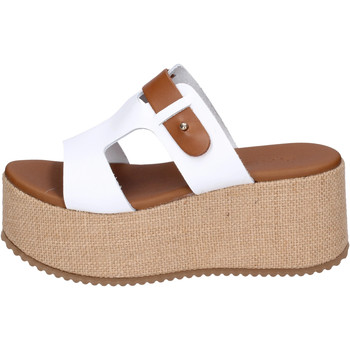 Chaussures Femme Mules Sara Collection BJ934 Blanc