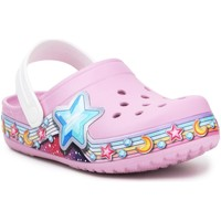 Chaussures Fille Sabots Crocs FL Star Band Clog 207075-6GD fioletowy