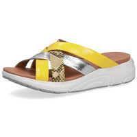 Chaussures Femme Mules Caprice CIABATTA  - 27202 PEIGNE JAUNE jaune