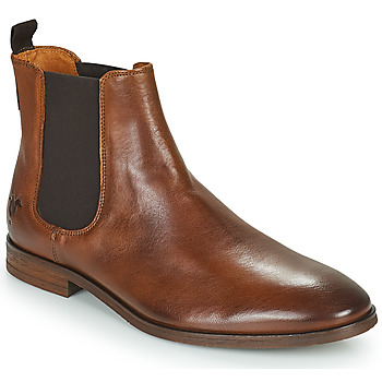 Chaussures Homme Boots Kost CONNOR 39 Cognac