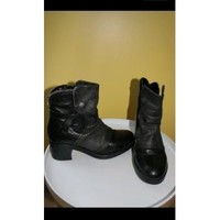 Chaussures Femme Boots Metamorf'Ose Bottines Rock Noir