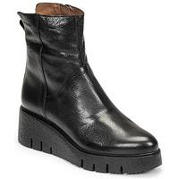 Chaussures Femme Boots Wonders E-6232 Noir