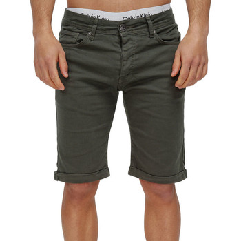 Vêtements Homme Shorts / Bermudas Monsieurmode Bermuda chino pour homme Bermuda 3422 vert Vert