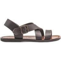 Chaussures Femme Sandales et Nu-pieds Gianluca - L'artigiano Del Cuoio 508X-TDM-G MARRONE