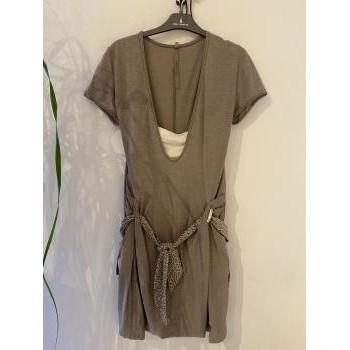 Vêtements Femme Robes courtes Cop Copine Robe courte Beige