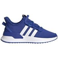 Chaussures Enfant Baskets basses adidas Originals Upath Run J Bleu