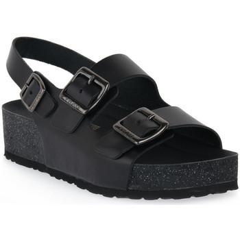 Chaussures Femme pour éviter à tout prix la chaleur Frau NERO NATURAL Nero