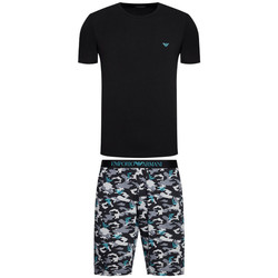 Vêtements Homme Pyjamas / Chemises de nuit Ea7 Emporio Armani Pyjama EA7 Emporio$SKU Noir