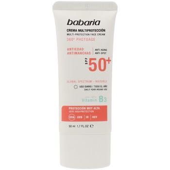 Beauté Protections solaires Babaria Solar Multiproteccion Crema Antimanchas Spf50+  50 ml