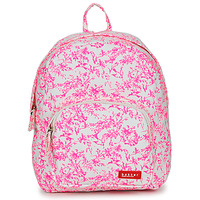 Sacs Fille Backpack Smooth Leather Bakker Made With Love BACKPACK MINI CANVAS Rose