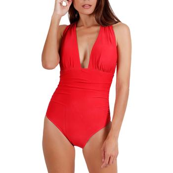 Vêtements Femme Maillots de bain 1 pièce Admas Maillot de bain 1 pièce croisé Cruisery Rouge
