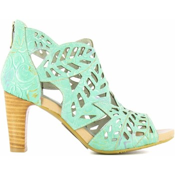 Chaussures Femme Sandales et Nu-pieds Laura Vita ALCBANEO 242 Turquoise Turquoise