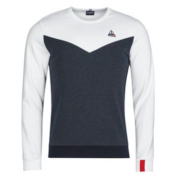 Vêtements Homme Sweats Le Coq Sportif SAISON 1 CREW SWEAT N 1 Marine / Blanc