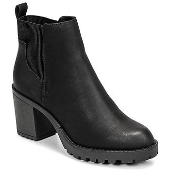 Chaussures Femme Bottines Only BARBARA HEELED BOOTIE Noir