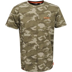 Vêtements Homme T-shirts manches courtes Regatta  Kaki foncé