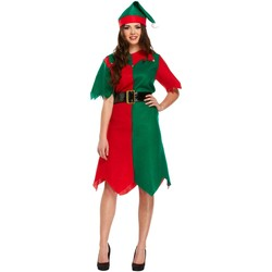 Vêtements Femme Robes courtes Christmas Shop CS086 Vert / rouge
