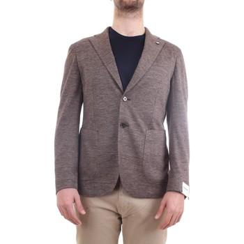 Vêtements Homme Vestes / Blazers L.b.m. 1911 15754 Veste homme gris colombe gris colombe