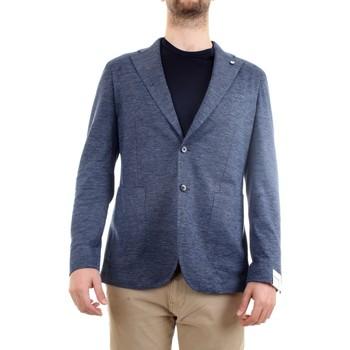 Vêtements Homme Vestes / Blazers L.b.m. 1911 15754 Veste homme bleu bleu
