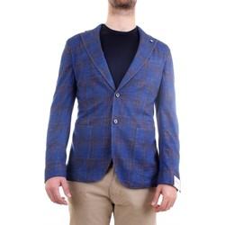 Vêtements Homme Vestes / Blazers L.b.m. 1911 15794 Veste homme bleu bleu