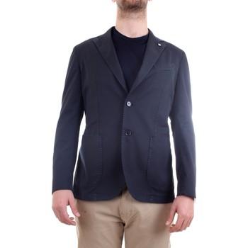 Vêtements Homme Vestes / Blazers L.b.m. 1911 15820 Veste homme bleu bleu