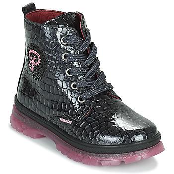 Chaussures Fille Boots Pablosky 404157 Noir