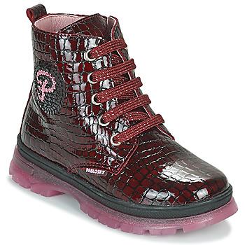Chaussures Fille Boots Pablosky 404167 Bordeaux
