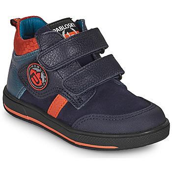 Chaussures Garçon Boots Pablosky 503523 Bleu