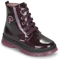 Chaussures Fille Boots Pablosky 404099 Bordeaux